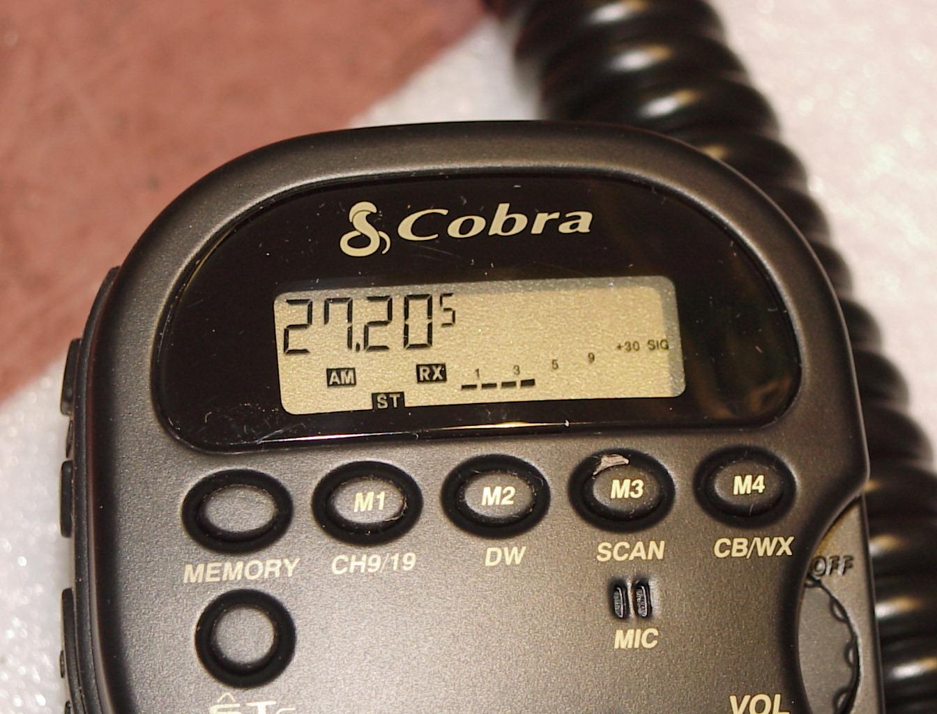 Cobra 75 Wxst