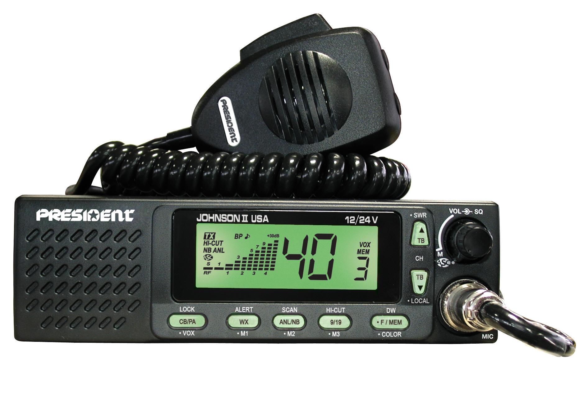 cb microphone wiring diagram president johnson ii    cb    radio  president johnson ii    cb    radio