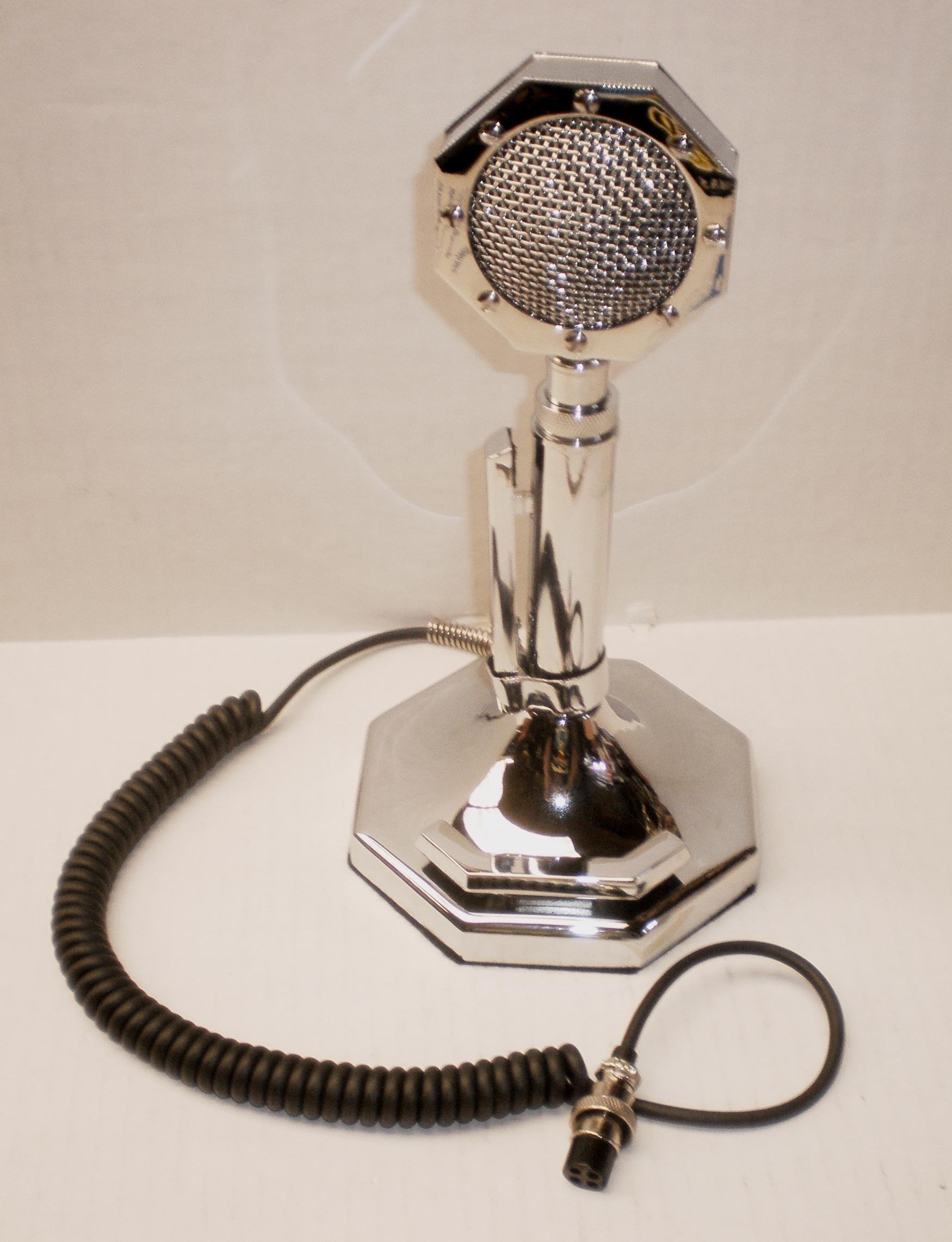 Silver Salute Microphone