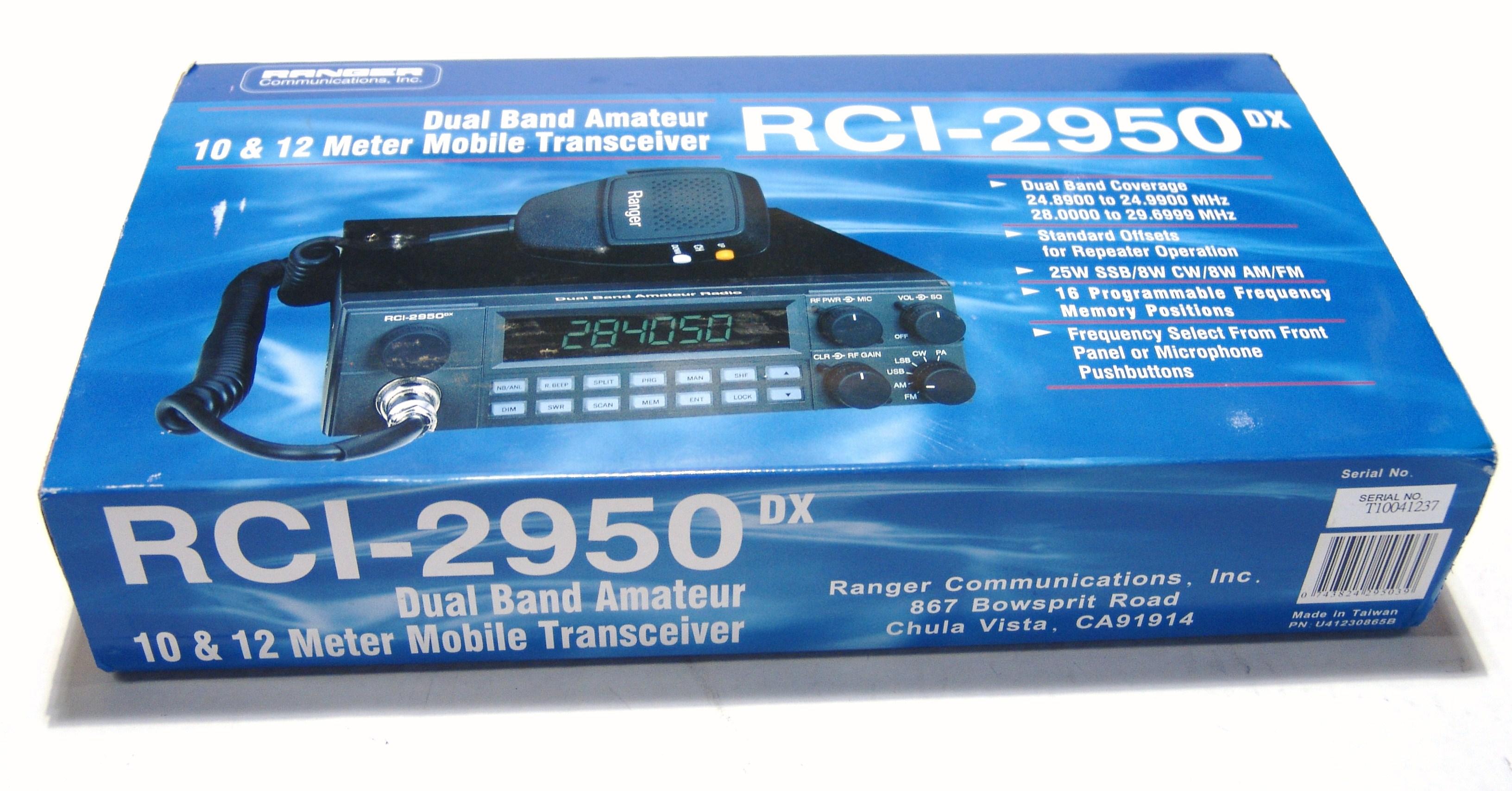 turner mic to ranger 2950